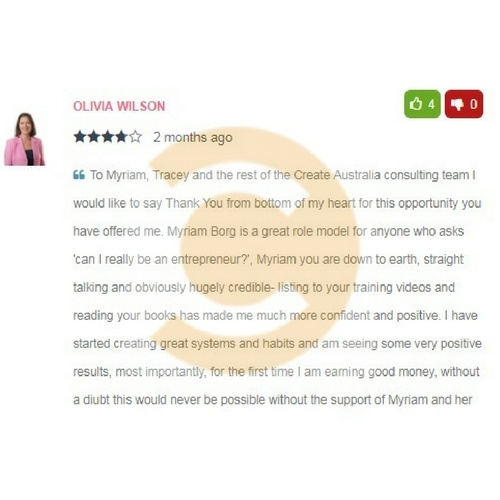 Create_Australia_Refund_Consulting_Program_Reviews_Customers_Testimonials_olivia_wilson