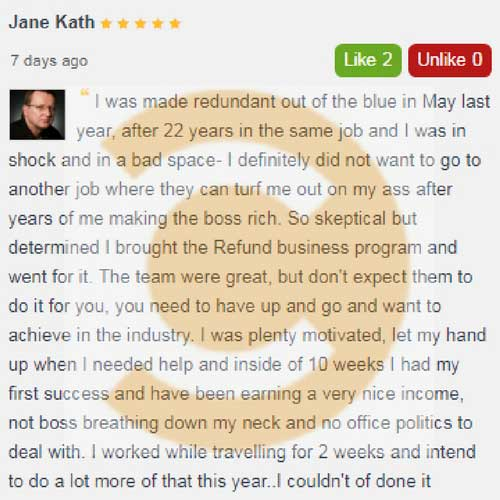 create australia refund consulting program business review by jane kath