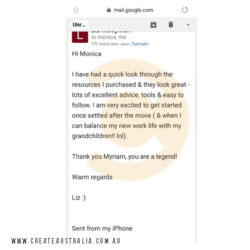 Create_Australia_Refund_Consulting_Testimonial_Reviews_Liz